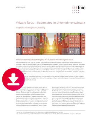 Whitepaper Erfolgreich mit VMware Tanzu