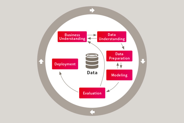 Predictive Analytics - Datenanalyse und Prognosen Kreislauf