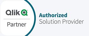Qlik Partnerlogo Authorized Solution Provider
