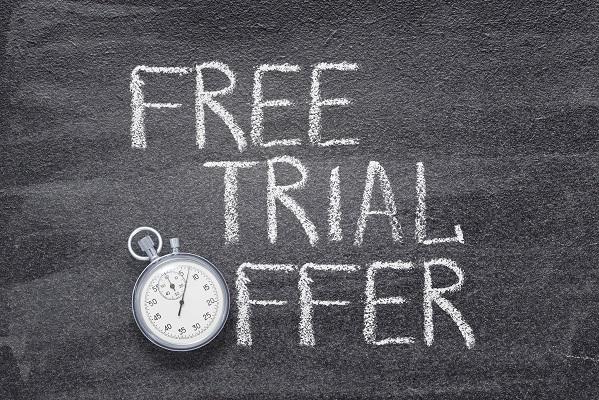 free trial offer Uhr